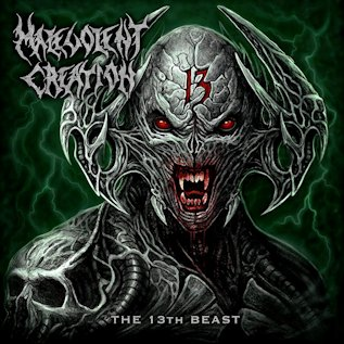 MALEVOLENT CREATION - The 13th Beast cover