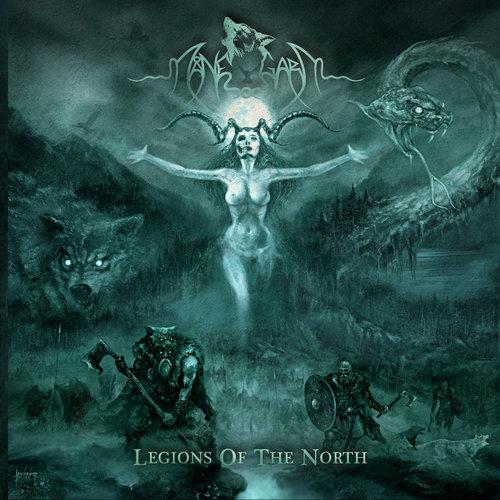 MÅNEGARM - Legions Of The North cover