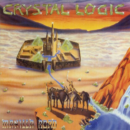 MANILLA ROAD - Crystal Logic cover