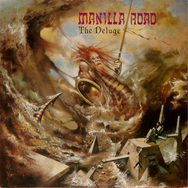 MANILLA ROAD - The Deluge cover