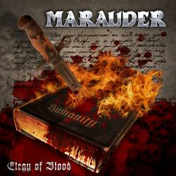 MARAUDER - Elegy of Blood cover 