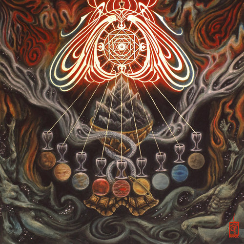 MARE COGNITUM - Wanderers: Astrology Of The Nine cover