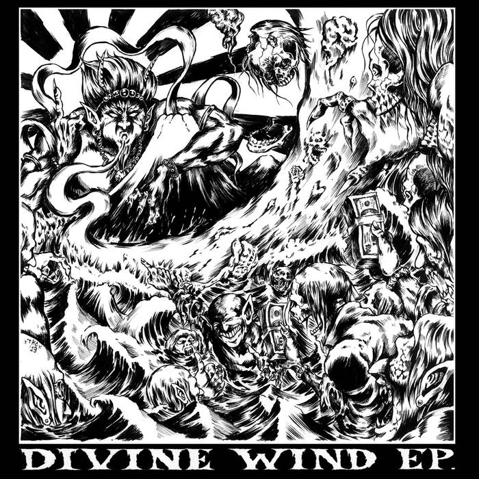 MASS COLLAPSE - Divine Wind EP cover