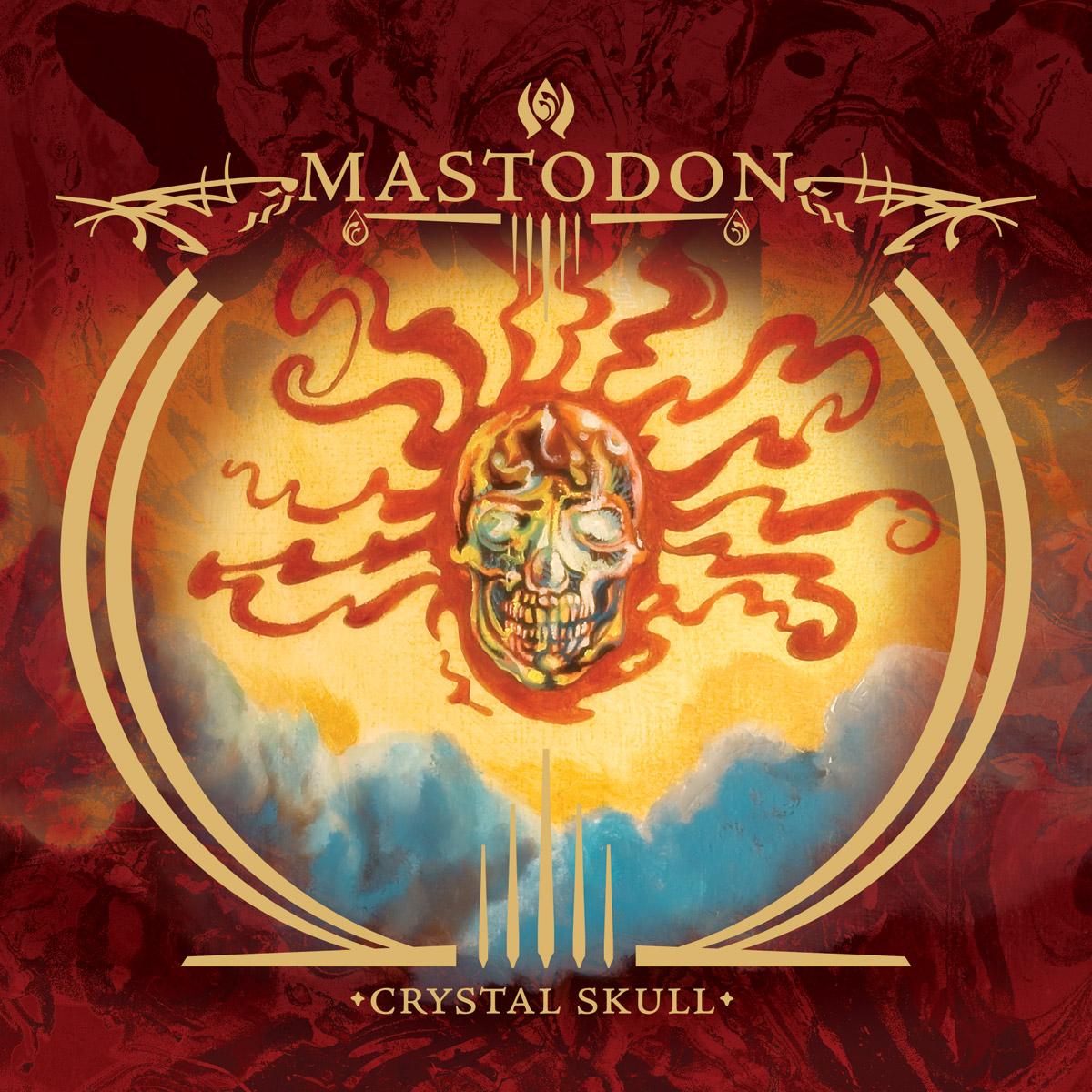 MASTODON - Crystal Skull cover