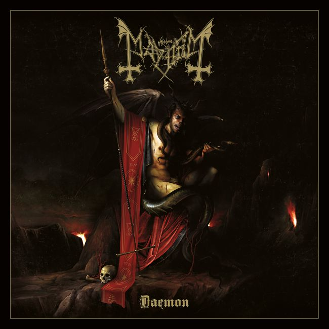 MAYHEM - Daemon cover