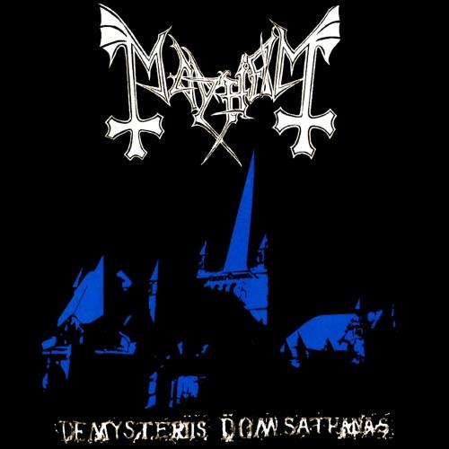 MAYHEM - De Mysteriis Dom Sathanas cover
