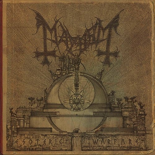 MAYHEM - Esoteric Warfare cover