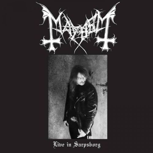 MAYHEM - Live in Sarpsborg cover