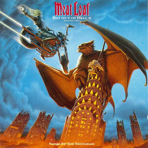 MEAT LOAF - Bat Out Of Hell II: Back Into Hell cover