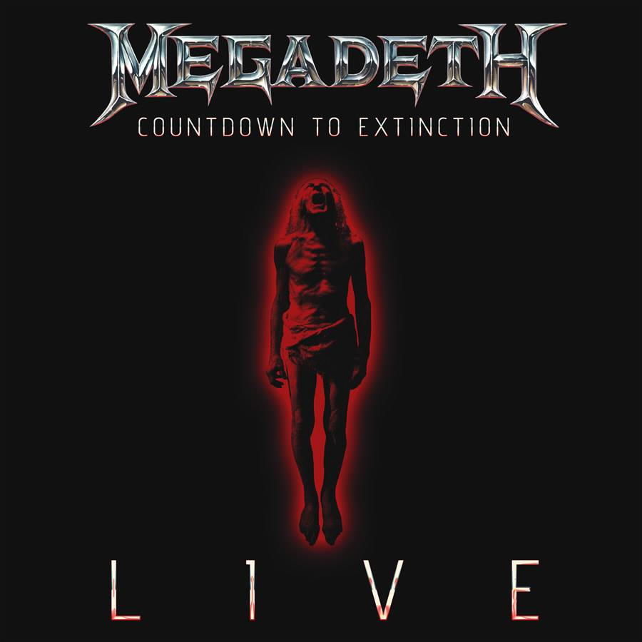 MEGADETH - Countdown to Extinction: Live cover