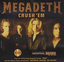 MEGADETH - Crush 'Em cover