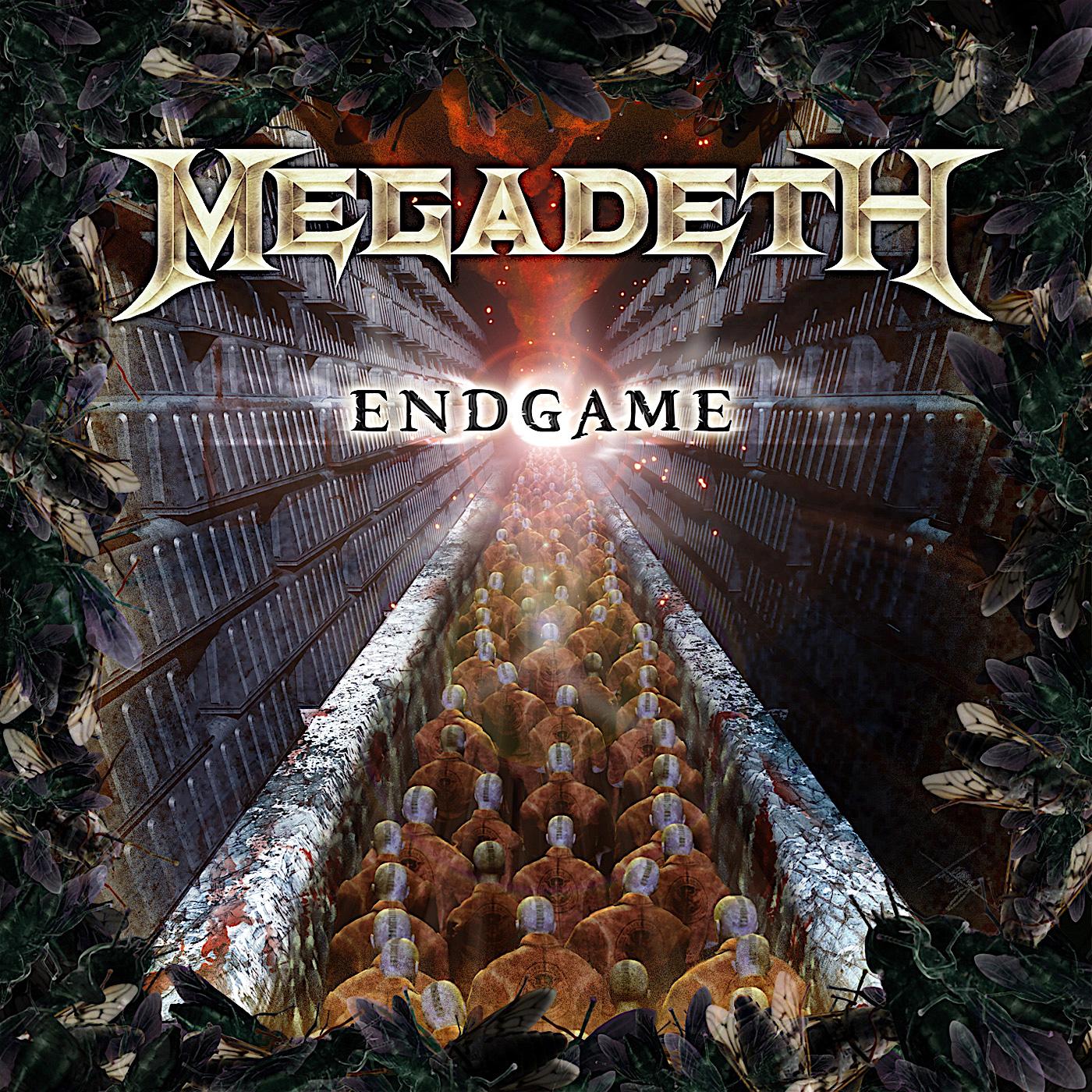 MEGADETH - Endgame cover