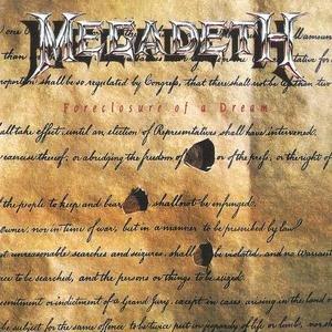 MEGADETH - Foreclosure of a Dream cover