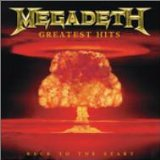 MEGADETH - Greatest Hits: Back to the Start cover