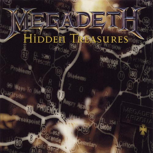 MEGADETH - Hidden Treasures cover