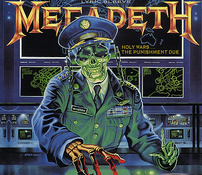 MEGADETH - Holy Wars... The Punishment Due cover