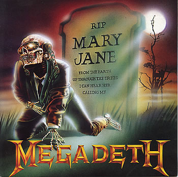 MEGADETH - Mary Jane cover