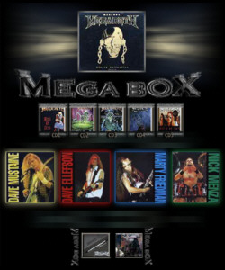 MEGADETH - Megabox cover