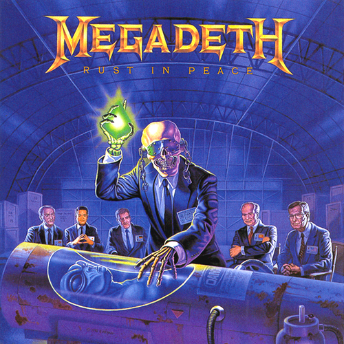 MEGADETH - Rust in Peace cover