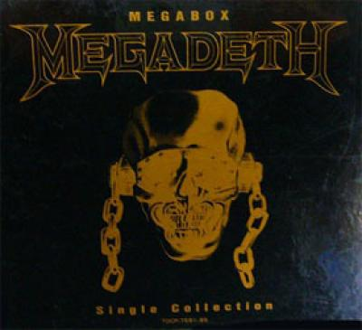 MEGADETH - Singles Megabox cover