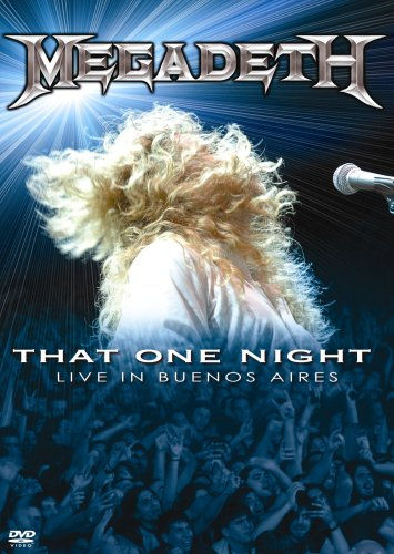 MEGADETH - That One Night - Live in Buenos Aires cover