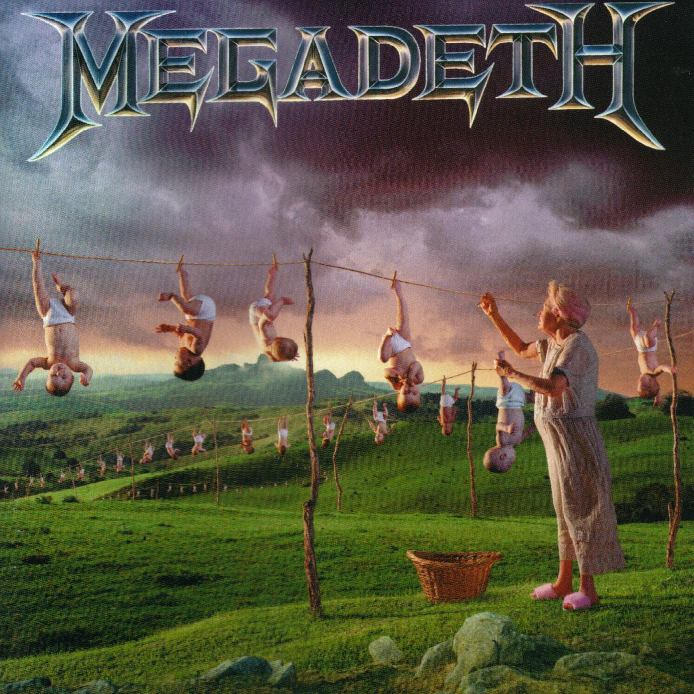 MEGADETH - Youthanasia cover