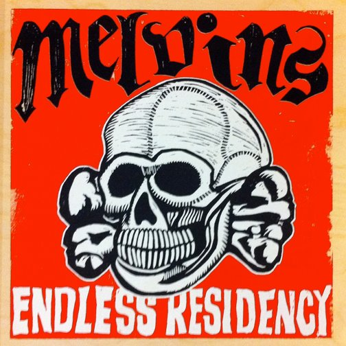 MELVINS - Endless Residency cover