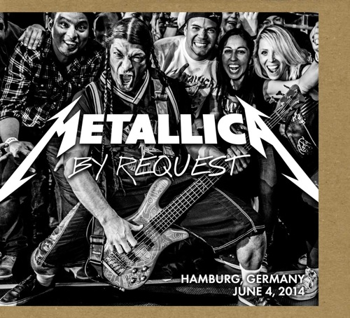 METALLICA - By Request: Hamburg, Germany - June 4, 2014 cover