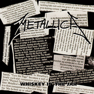METALLICA - Whiskey in the Jar cover
