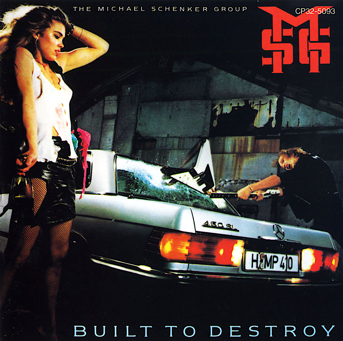 MICHAEL SCHENKER GROUP - Built to Destroy cover