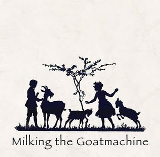 MILKING THE GOATMACHINE - Back from the Goats cover