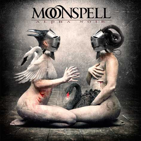 MOONSPELL - Alpha Noir / Omega White cover