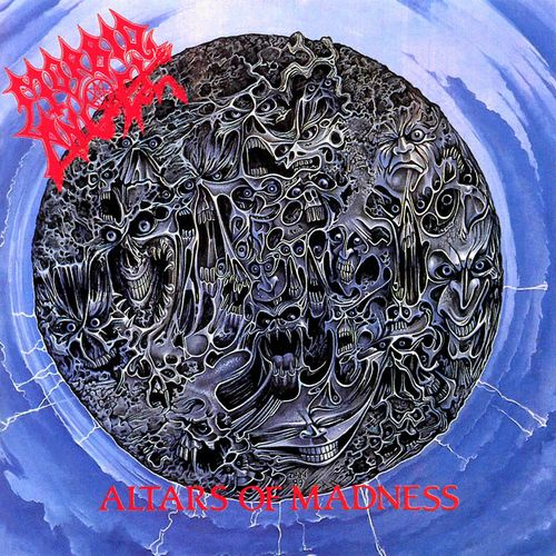 MORBID ANGEL - Altars of Madness cover