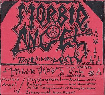 MORBID ANGEL - Total Hideous Death cover