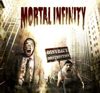 MORTAL INFINITY - District Destruction cover