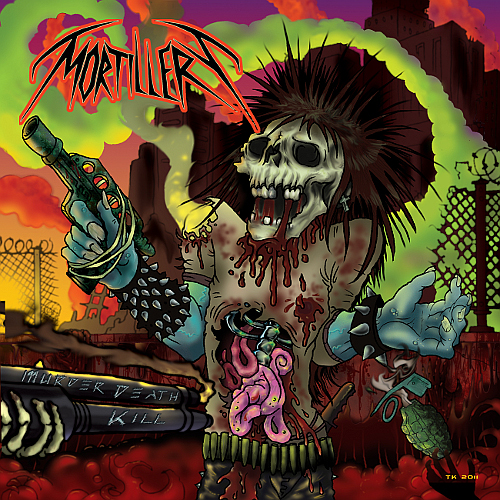 MORTILLERY - Murder Death Kill cover