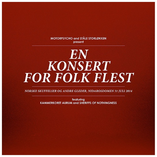 MOTORPSYCHO - Motorpsycho And Ståle Storløkken: En Konsert For Folk Flest cover