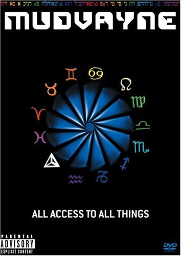 MUDVAYNE - All Access to All Things cover