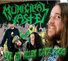 MUNICIPAL WASTE - Live At Alley Katz cover