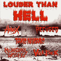 MUNICIPAL WASTE - Louder Than Hell cover