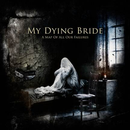 MY DYING BRIDE - A Map of All our Failures cover