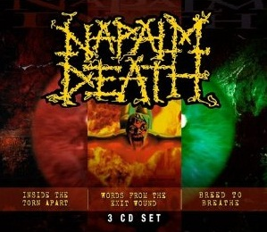 NAPALM DEATH - Inside the Torn Apart / Words from the Exit Wound / Breed to Breathe cover 