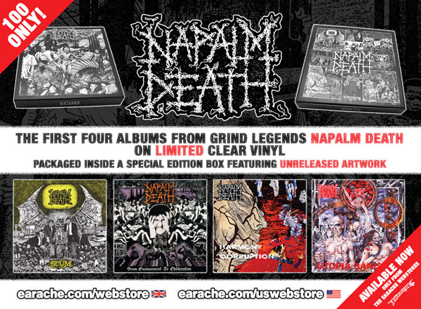 Napalm Death Scum From Enslavement To Obliteration