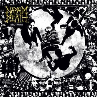 NAPALM DEATH - Utilitarian cover