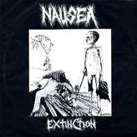 NAUSEA - Extinction cover