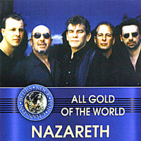 NAZARETH - All Gold Of The World cover