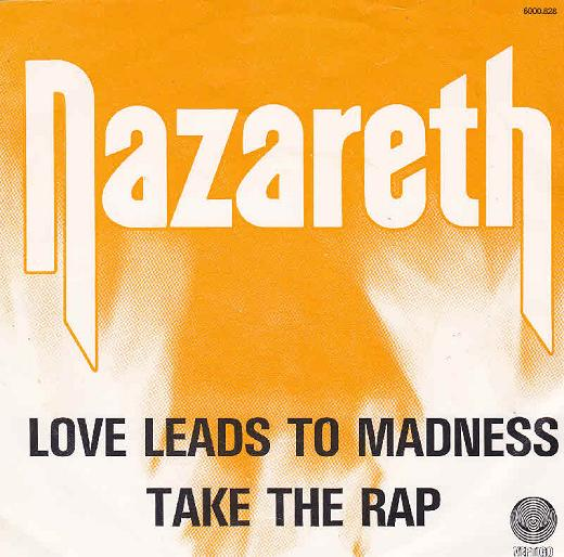 NAZARETH - Love Leads To Madness cover