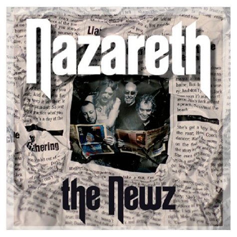 NAZARETH - The Newz cover