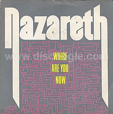 NAZARETH - Where Are You Now cover