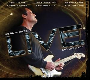 NEAL MORSE - Live Momentum cover